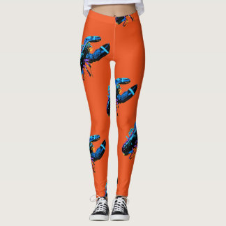 Leggings Langosta azul de Maine