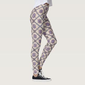Leggings Lavanda, ciruelo y púrpura del modelo