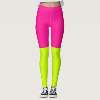 Leggings limonadas rosadas