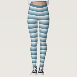 Leggings lineas azul