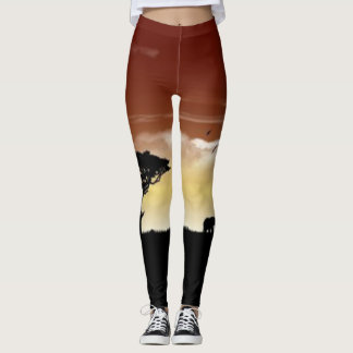 Leggings Llanos africanos