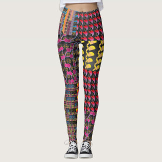 Leggings Lleve estas polainas brillantemente coloreadas