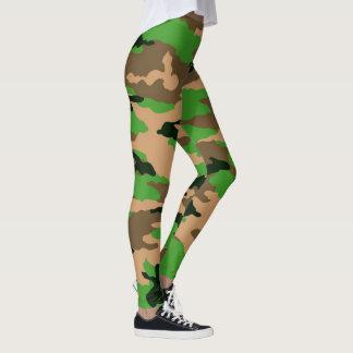Leggings los militares camuflan