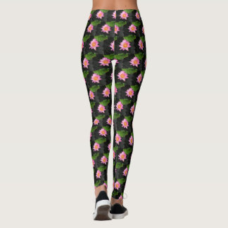 Leggings Lotus rosado Waterlily