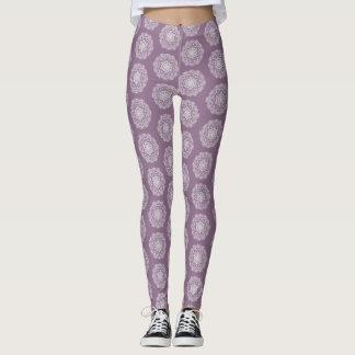 Leggings Mandala de las glicinias