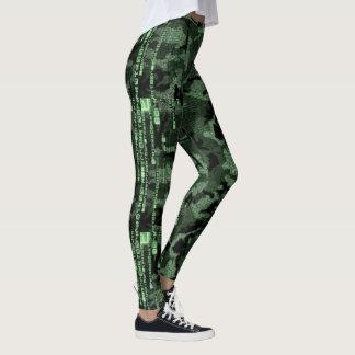Leggings Matriz camuflada