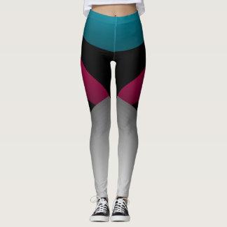 Leggings Moda deportiva del color de Jeweltones que