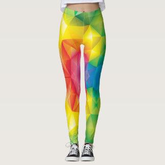 Leggings modelo colorido
