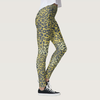 Leggings Modelo del estampado leopardo