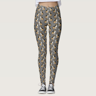 Leggings Modelo del perro del collie