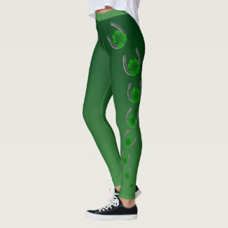 Leggings Mujeres de las polainas de St Patrick lindo de las