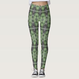 Leggings Naturaleza verde clara modelada