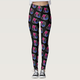Leggings Orgullo bisexual de la panda LGBT