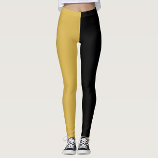 Leggings Oro amarillo negro