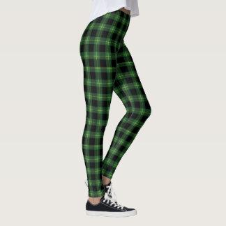 Leggings Otoño verde de la caída del modelo de la tela
