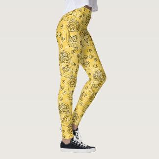 Leggings Palomitas amarillas