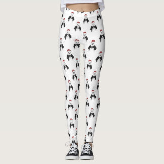Leggings Panda de Santa