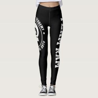 Leggings Pantalones/polainas de la yoga de RAM, negras