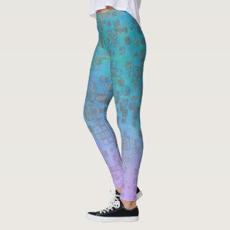 Leggings Pendiente en colores pastel Geo lustroso