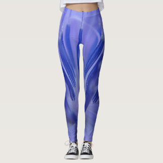 Leggings Pétalos azules