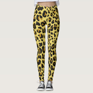 Leggings Pieles del leopardo