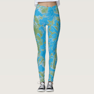 Leggings Pintura abstracta