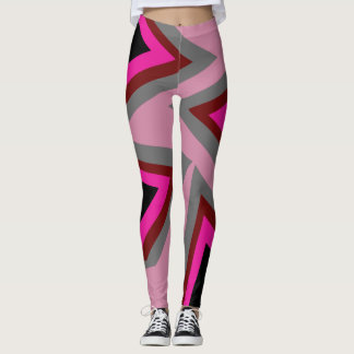 Leggings Polainas abstractas del triángulo