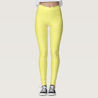 Leggings Polainas amarillo claro del diseñador de Julia