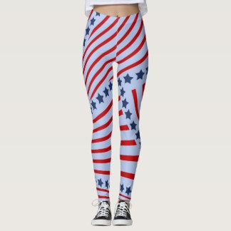 Leggings Polainas americanas del orgullo