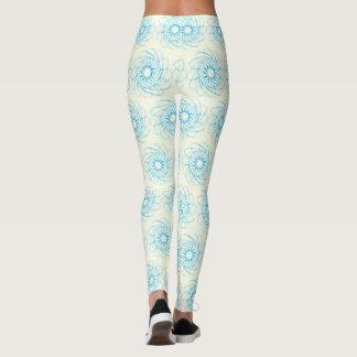 Leggings Polainas azules del modelo