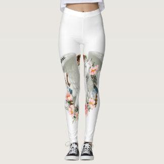 Leggings Polainas blancas de Pegaso