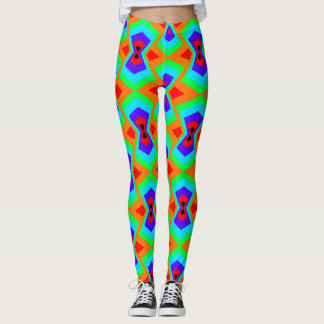 Leggings Polainas brillantes del POP