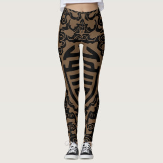 Leggings Polainas chinas del adorno