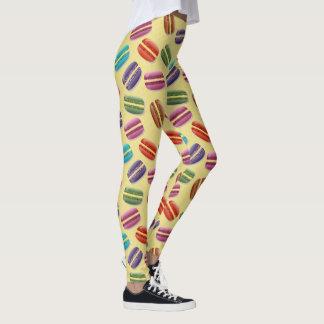 Leggings Polainas coloridas del modelo de los macarrones de