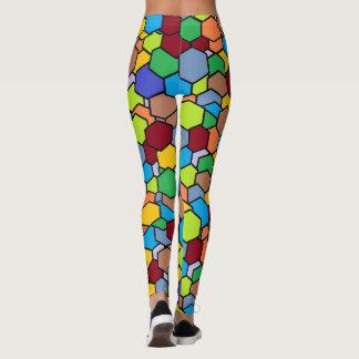 Leggings Polainas coloridas impresionantes del modelo del