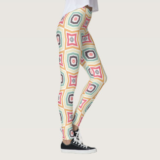 Leggings Polainas coloridas retras del modelo