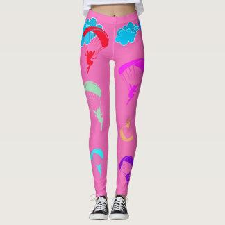 Leggings Polainas coloridas rosadas del duendecillo