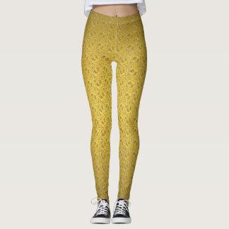Leggings Polainas con clase del modelo del oro