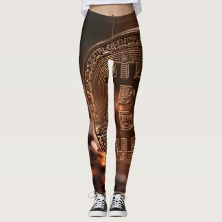 Leggings Polainas de Bitcoin