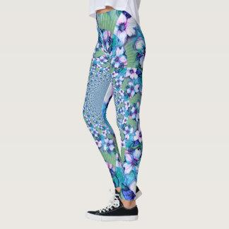 Leggings Polainas de Design design de la magnolia
