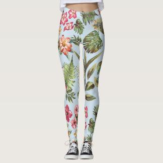Leggings Polainas de la flor
