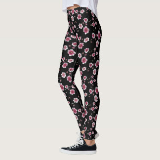 Leggings Polainas de la flor de cerezo