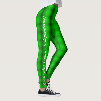 Leggings Polainas de la independencia de Jamaica 55.as