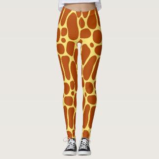 Leggings Polainas de la jirafa