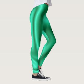 Leggings Polainas de la moda de la diversión--Mujer-Verde
