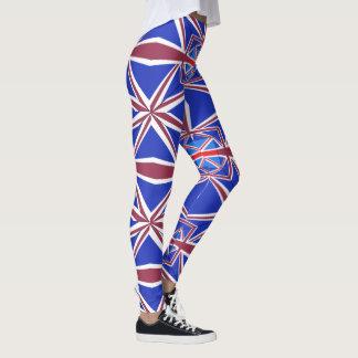 Leggings Polainas de las señoras Union Jack