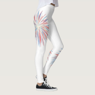 Leggings Polainas de los fuegos artificiales