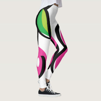 Leggings Polainas de Swoozle de la cereza