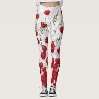 Leggings Polainas del el día de San Valentín