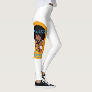 Leggings Polainas del logotipo de LyveLyfeRadio